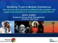 Building Trust in Mobile Commerce