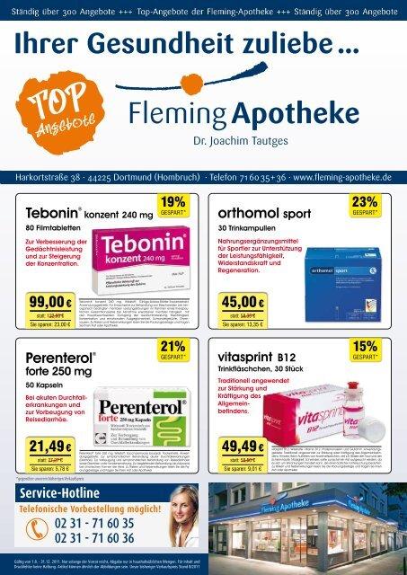 Sammeln Sie Punkte mit der Fleming-Card ... - Fleming Apotheke