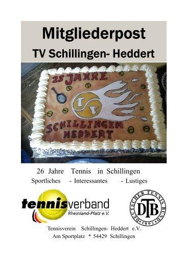 Vereinszeitung April 2012 - Tennisverein Schillingen- Heddert