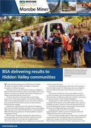 Miner Miner Edition 20.indd - Morobe Mining Joint Venture