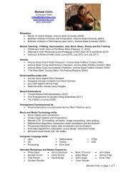 Mike Cirillo CV - Mike Cirillo fiddler fiddle jazz violin violinist composer
