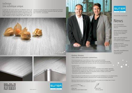 IceDesignTM - Suter Inox AG