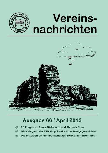 Ausgabe 66 / April 2012