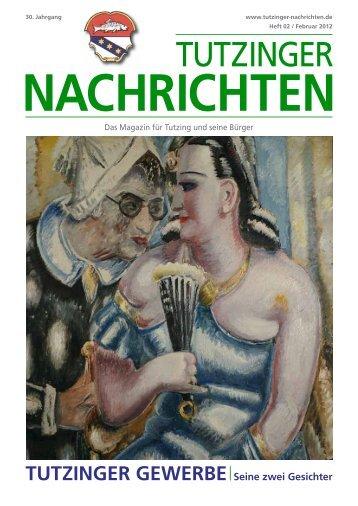 Download Heft 02 / Februar 2012 - Tutzinger Nachrichten
