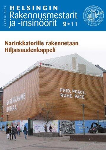Yhdistyksen jäsenlehti 9/11, PDF tiedosto - Helsingin ...