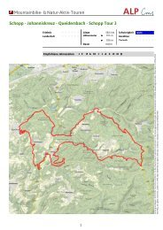 Schopp Tour 3 - Zentrum Pfälzerwald