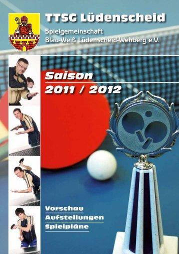 TTSG Magazin 2011-2012 - TTSG BW Lüdenscheid/Wehberg