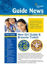 Guide NeWS - Girl Guides Singapore