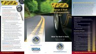 Teenage & Adult Driver Responsibility Act - Governor's Office of ...