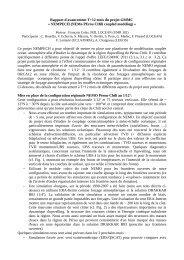 Rapport d'avancement T+12 mois du projet GMMC - Mercator Océan