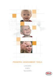 PEDIATRIC ASSESSMENT TOOLS - Med-El