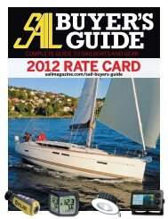 2012 RATE CARD - Sail Magazine