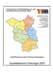 QKO - Tumorzentrum Land Brandenburg