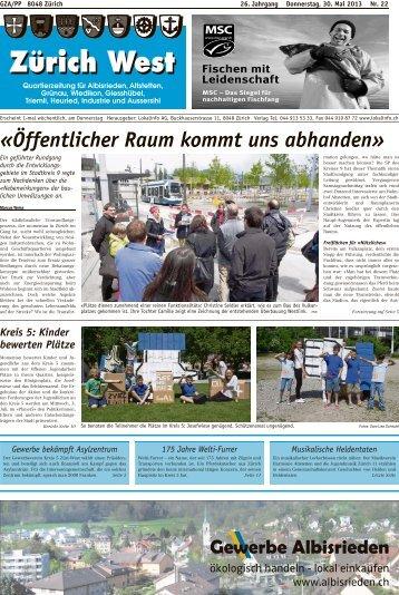 «Öffentlicher Raum kommt uns abhanden» - Lokalinfo AG