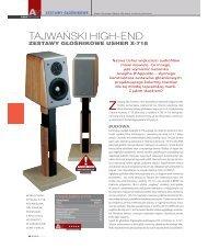 TAJWAÂ¡SKI HIGH-END - Usher Audio