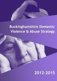 DV Strategy v4 (06092012).pub - Buckinghamshire County Council
