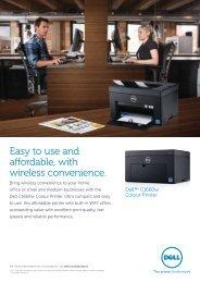 Dell c1660w Brochure - inkClub.com