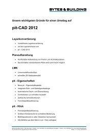 pit-CAD 2012 - Bytes & Building GmbH
