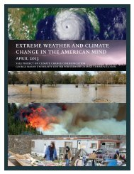 Extreme Weather and Climate Change in the American Mind