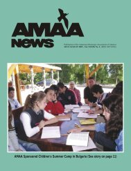AMAA News July-Aug 2005 Layout.pmd - Armenian Missionary ...