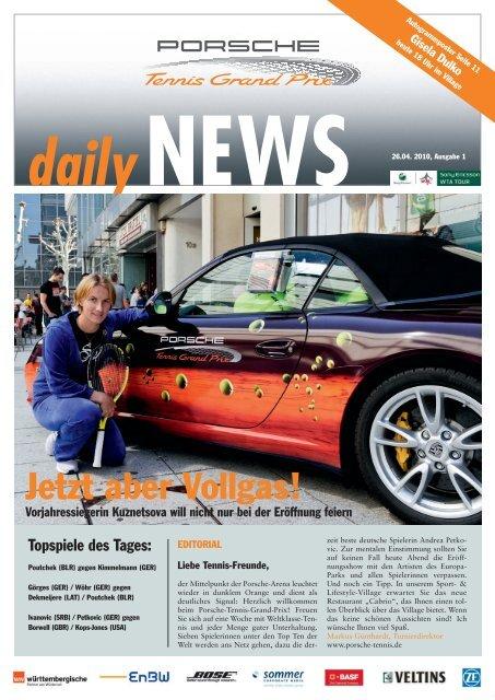 daily - Porsche Tennis Grand Prix