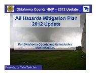All Hazards Mitigation Plan 2012 Update - Oklahoma County