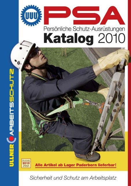 Katalog Arbeitsschutz - Ullner u. Ullner