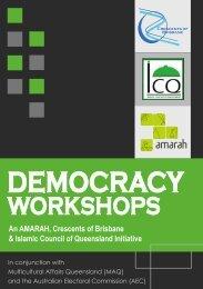 An AMARAH, Crescents of Brisbane & Islamic Council of ...