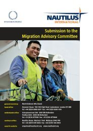 Submission to the Migration Advisory Committee.pdf - Nautilus ...