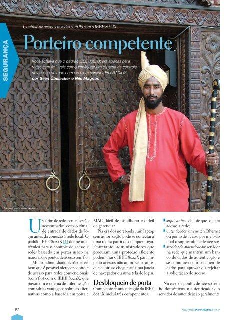 Porteiro competente - Linux Magazine