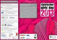 Download - Steirischer Girls' Day 2013 - BerufsFindungsBegleitung
