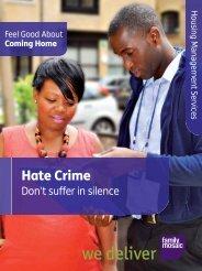Hate Crime leaflet - Family Mosaic