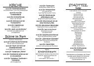 Parkfest-Flyer 2013 - Bürgerverein Sellerhausen-Stünz