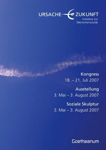 Goetheanum - Ursache Zukunft