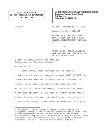 91156299 - U.S. Patent and Trademark Office