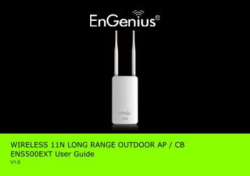 ENS500EXT User Manual - EnGenius Technologies