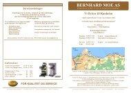 Flyttemelding og servicepriser utsendelse ... - Bernhard Moe AS