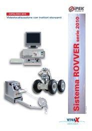 Sistema ROVVER serie 2010 Videolocalizzazione con ... - vivax.it