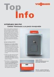 VITOPLEX 100 PV1 Calidad Viessmann a un precio inmejorable