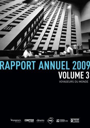 RAPPORT ANNUEL 2008 pour WEB - Voyageurs du Monde