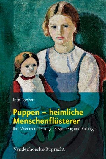 Puppen – heimliche Menschenflüsterer - Vandenhoeck & Ruprecht