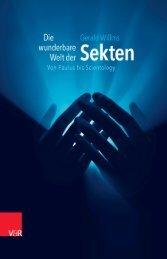 Die wunderbare Welt der Sekten - Vandenhoeck & Ruprecht