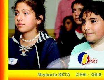 Memoria BETA 2006 - 2008 - Altavoz