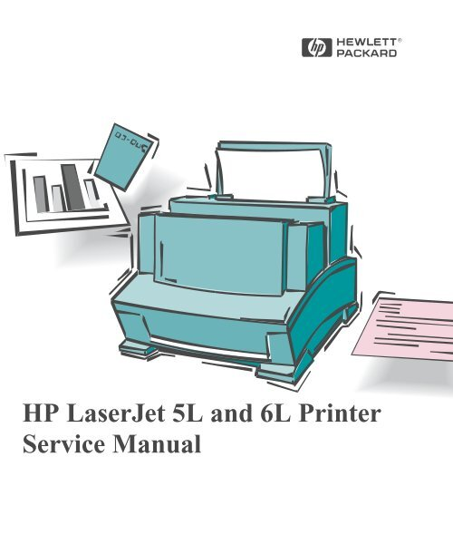 [DIAGRAM_38ZD]  HP LaserJet 5L and 6L Printer Service Manual, C3990-90991 | Laserjet 6l Port Wiring Diagram |  | Yumpu