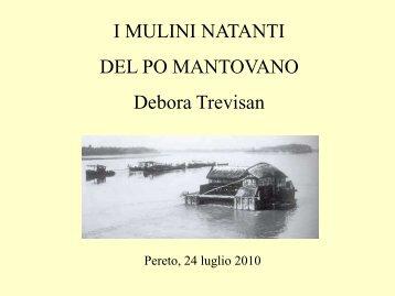 I mulini natanti del Po mantovano - Pereto