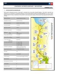 mop concesión autopista santiago – san antonio febrero 2013