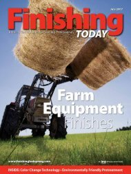 Advanced Finishes for Farm Equipment from Finishing Today, July ...