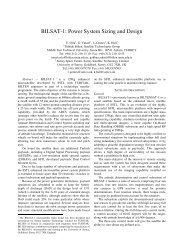 BILSAT-1: Power System Sizing and Design