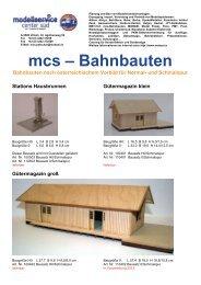mcs – Bahnbauten - mobasi