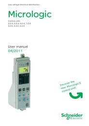 Micrologic - Schneider Electric